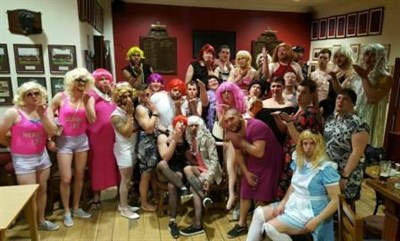 Reading RFC Rugby Tour To Dublin Fancy Dress