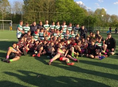 South Woodham Ferries RFC U17s Rugby Tour To Gent Easter Festival