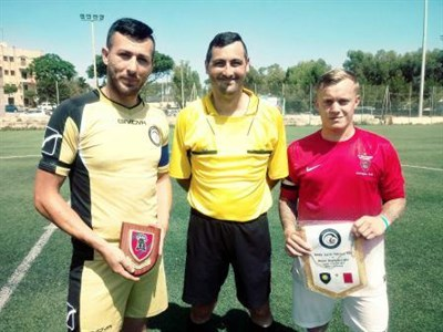 Royal Engineers Football Tour To Malta Mens Match