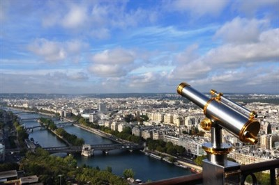 View Of Paris From The Effiel Tower