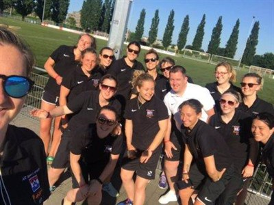 The Army Reserve Ladies Football Tour To Holland