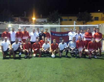 Royal Engineers Mens Football Tour To Spain