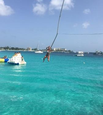 Rope Swing At Boat Yard
