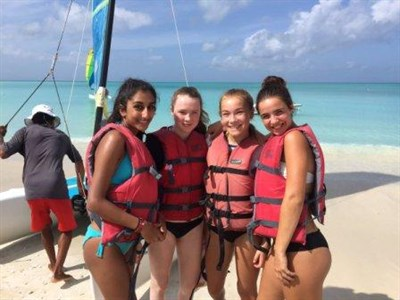 The Abbey School Netball Tour To Antigua Beach