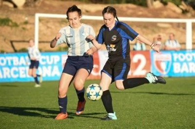Murieston United U15 Girls Football Tour To The Barcelona Cup