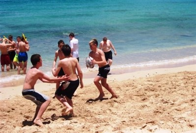 Darton High School Rugby Tour To Barbados Beach Rugby
