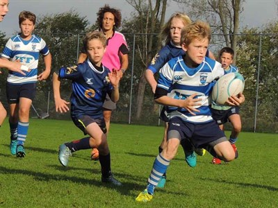 The Hilversum Junior Rugby Tournament In Holland