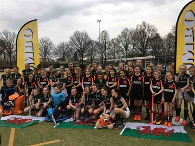 Gwent HC Girls U11 Hockey Tour To Holland Group Photo
