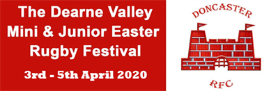 The Dearne Valley Easter Rugby Festival 2019