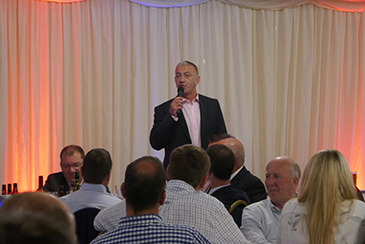 Rugby Heroes Charity Dinner Guest Speaker John Bentley 8
