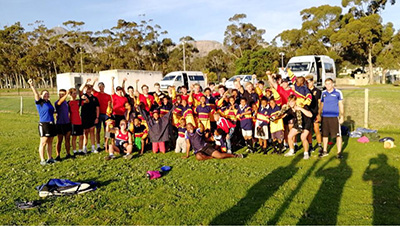 Second Match Day Ryde School Rugby Tour To South Africa