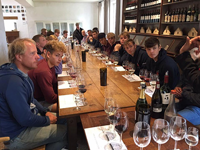 Wine Tasting Ryde School Rugby Tour To South Africa