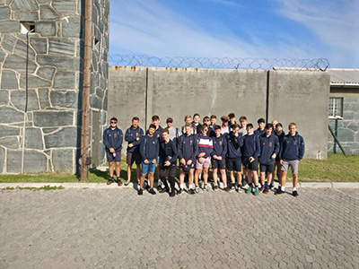 Robben Island Tour Ryde School Rugby Tour To South Africa