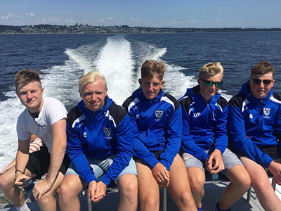 Ysgol Greenhill School Rugby Tour To Canada Whale Watching
