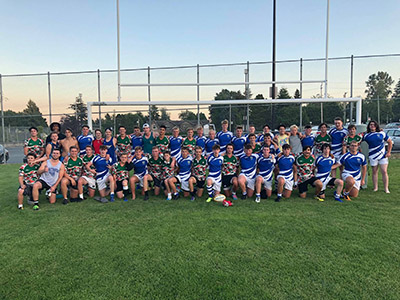 Ysgol Greenhill School Rugby Tour To Canada Second Fixture
