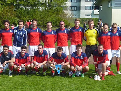 Old Harroviam FC Football Tour To Hamburg Germany 2014