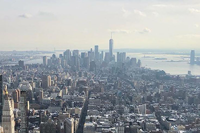 Hartlepool RFC Rugby Tour New York Skyline