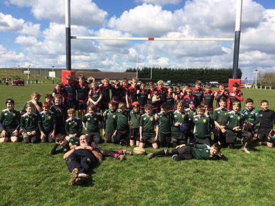 Sidmouth RFC U12 Rugby Tour To Tewkesbury
