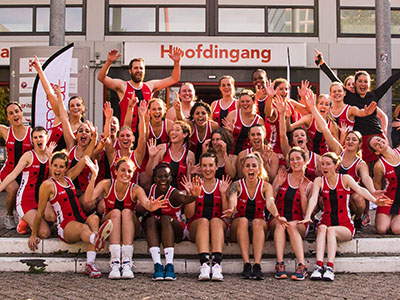Amsterdam Netball Tournament Group Photo