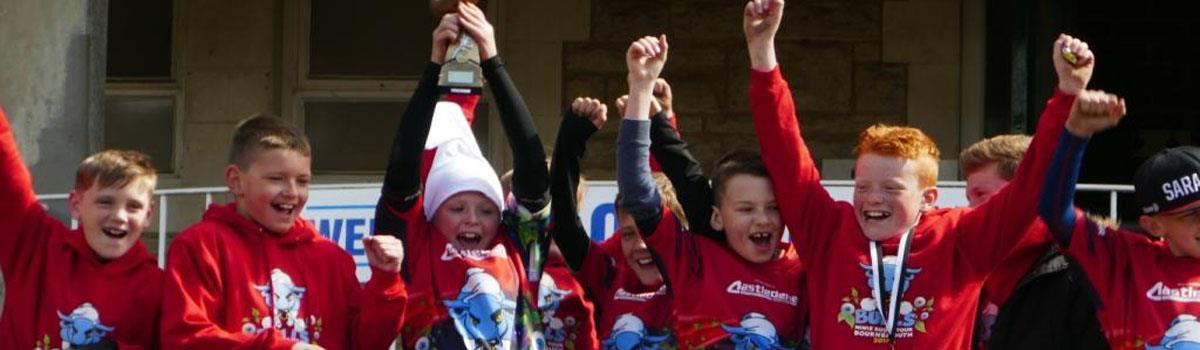 Aylesford Bulls RFC Minis At The Bournemouth Festival