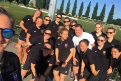 Army Reserve Ladies Football Tour to Holland 2017