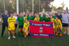 Royal Engineers Ladies Football Tour to Malta 2017