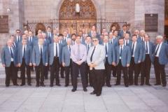 Pontnewydd MVC  Choir Tour to Canada 1999