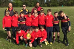 Drifters RFC U10's Rugby Tour to the Wimborne Mini Rugby Festival 2016