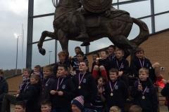 Musselburgh RFC U10, U11 & U12 Rugby Tour to Dearne Valley 2018