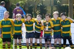 Shoreham RFC U10's at the Bognor Mini and Junior Rugby Festival 2017
