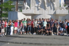 Pershore High School Girls Boys Hockey and Football Tour to Holland 2006