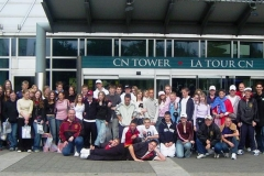 The George Ward School Netball and Rugby Tour to Canada 2004
