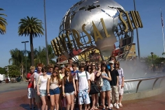 The Wensleydale School Girls And Boys Football Tour to Los Angeles 2011
