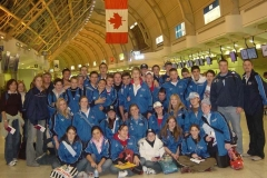 Warblington School Rugby Girls Basketball Tour to Canada 2004