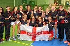 England Indoor Netball Ladies Netball Tour to New Zealand 2016