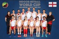 England Indoor Netball Mixed Netball Tour to New Zealand 2016