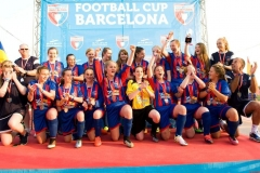 Murieston United FC U15 Girls Football Tour to The Football Cup Barcalona 2015