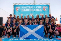 Murieston United Girls Football Tour To The Barcelona Cup 2017