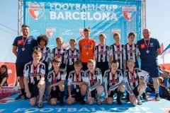 Penistone Church FC U14's Tour To The Barcelona Cup 2017