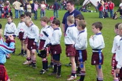 Sidcup RFC U8s Rugby Tour To The Worthing Mini Festival 2005