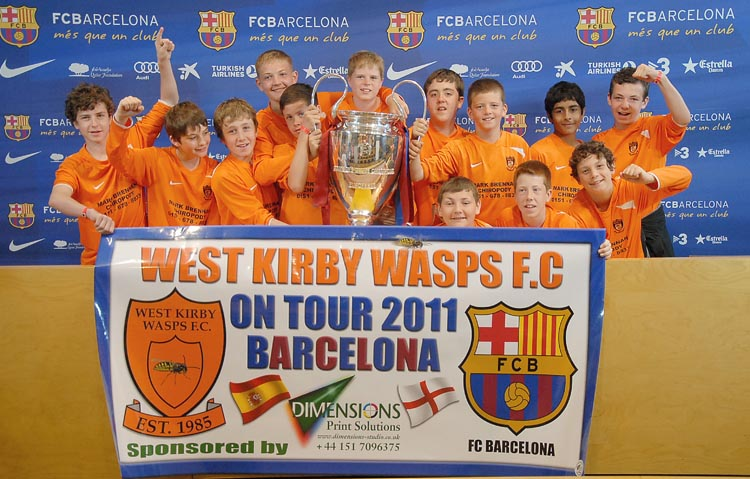 West Kirby Wasps FC U13s Football Tour To Lloret De Mar 2011