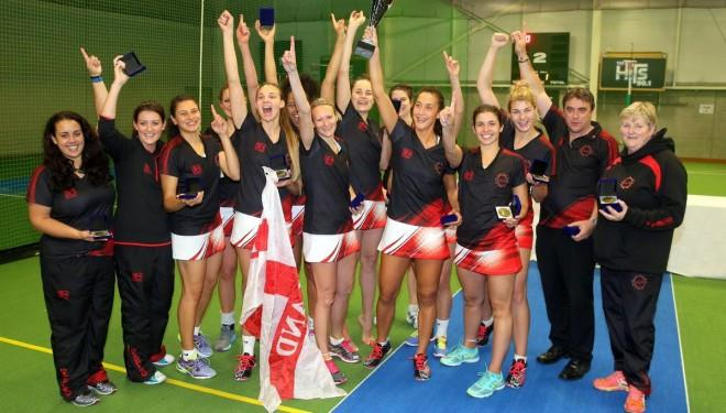 England Ladies Indoor Netball Team Gold Medal Winners 2016