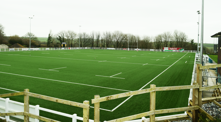Pay Rugby at Ivybridge RFC on their state of the art Rugby365 pitch